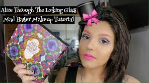 alice through the looking gl makeup tutorial mad hatter
