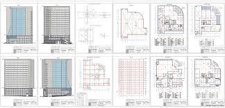 Проекты общественных зданий скачать Чертежи РУ Дипломный проект Общественное здание 42 х 39 м в г