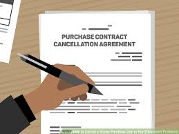 How To Cancel A House Purchase Due To Non Disclosed Problems