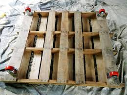 build a raised garden bed from pallets