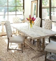 modern distressed dining room chairs in other rustic white table nice home furniture kitchen leather
