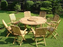 furniture pretty bright outdoor dining table sets with charming round table and enchanting bright wooden charming outdoor furniture design