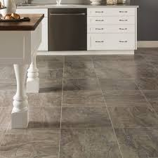 Vinyl Tile Kitchen Flooring Benson Stone Vinyl Flooring In Rockford