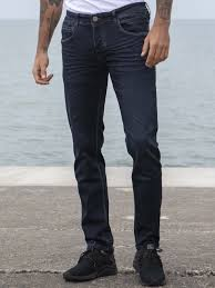 Mens Grey Designer Jeans Eto Designer Mens Dark Blue Reflex Super Skinny Denim Jeans