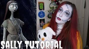 sally nightmare before makeup tutorial inspiration of sally nightmare before makeup kit