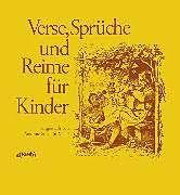 Verse Sprüche Und Reime Für Kinder Susanne Stöcklin Meier Buch