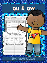 Our free phonics worksheets are great for everybody! Free Ou Ow Phonics Printables No Prep By Rachel Nielson Tpt