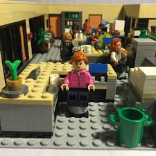 lego office. this lego proposal is based on nbcu0027s the office americau0027s quintessential workplace comedy developed by greg daniels and original from lego v