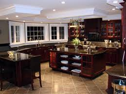 Delighful Dark Kitchen Cabinets Colors Floor Tiles That Match To Design Ideas