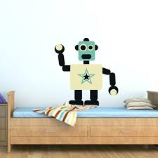 the star tin man robot wall decal decals canada
