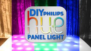 Hue Light Panels Diy Philips Hue Panel Light Easy To Make