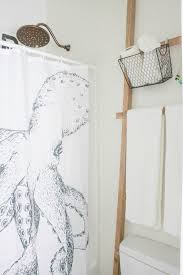 diy towel storage. This Simple Over The Toilet Towel Storage Ladder Is So Easy To Make And Will Look Diy E