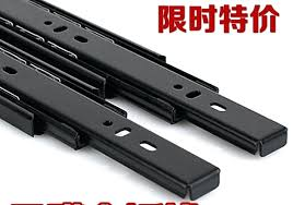 furniture hardware replacement parts. track rails furniture hardware accessories damping slide computer desk keyboard tray three rail replacement parts home t