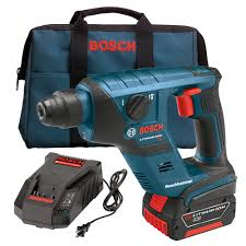 bosch right angle drill. bosch rhs181k 18v cordless lithium-ion compact sds-plus rotary right angle drill