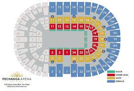 Pechanga Arena Seating Chart Disney On Ice Presents Frozen Pechanga Arena San Diego
