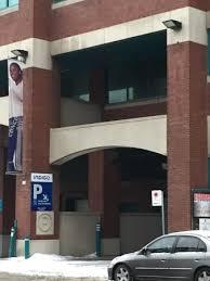 putting edge centre ville indigo parking garage across the street