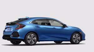 2018 Honda Civic Hatchback Aegean Blue