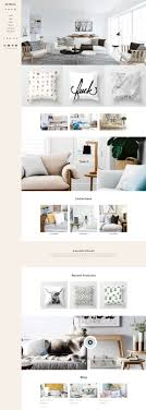 pillow home decor shop responsive shopify theme on behance