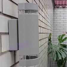 great contemporary outdoor led wall light lighting pack modern lamp porch waterproof up and down exterior sconce in l e d furniture clearance fireplace