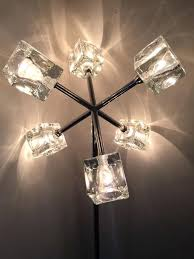 ice cube lighting wonderful ice cube floor lamp on floor within ice cube floor lamp light ice cube lighting