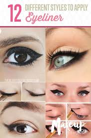12 diffe eyeliner tutorials you ll be thankful for makeup tips tricks