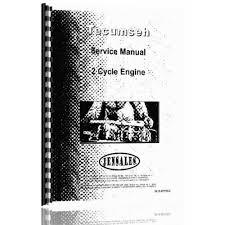 Tecumseh 2 Cycle Engine Service Manual