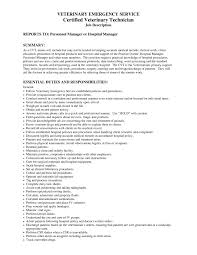 Veterinary Resume Samples Resume Template Veterinarian RESUME 35