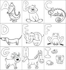 Letters Coloring Worksheet Pdf Pages Alphabet Coloring Pages