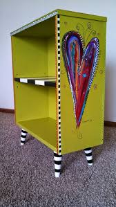 ideas to paint furniture. bookcase revamped by carolynu0027s funky furniture absolutely love the wicked witchu0027s striped stocking ideas to paint e