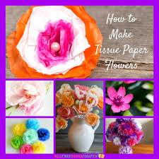 Paper Flower Craft Ideas How To Make Tissue Paper Flowers 14 Paper Craft Ideas
