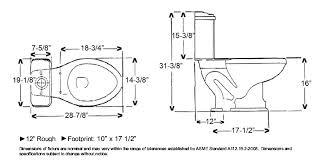 elongated bowl toilet dimensions. elongated toilet bowl dimensions images s