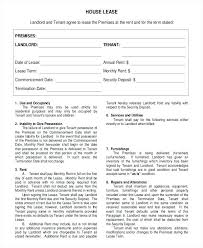 Free Lease Agreement Template House Printable Rental Form – Ffshop ...