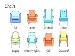 chair styles types of living room chairs types chair styles dining dining chair styles and names