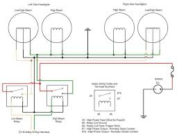 motorcycle headlight wiring facbooik com Harley Headlight Wiring Harness headlight wiring diagram with relay wiring diagram harley headlight wiring harness