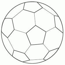 Small Picture Coloring Pages Soccer Ball Coloring Pages Free Printables