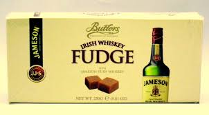 butlers irish chocolates jameson irish whiskey fudge gift box