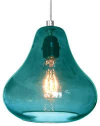 turquoise pendant lighting. Turquoise Lighting. Pear Shaped Guava Fruit Similar Glass Shade Aqua Pendant Lights Tranparent Material Cute Lighting
