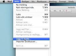 hjlp til mac mail