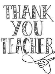 Free Printable Teacher Appreciation Coloring Cards Cards Create And