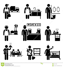 low income jobs occupations careers royalty stock photos low income jobs occupations careers