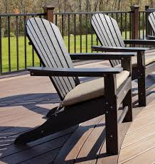 Trex Outdoor Cape Cod Adirondack Chair with Cushion & Reviews