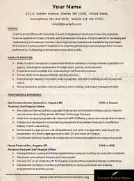 Professional #cfo #resume #sample | #executive #resume #writers Http ...