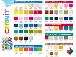 Pacific Polymers Color Chart