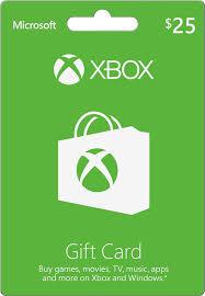 microsoft xbox 25 gift card green xbox microsoft gift card 2016 best