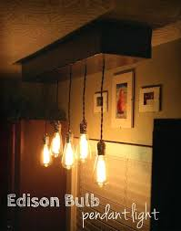edison bulb pendant lighting vintage water pipe pendant lights industrial bulb