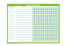 Free Printable Bill Payment Schedule 32 Free Bill Pay Checklists Bill Calendars Pdf Word Excel