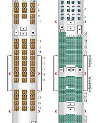 Emirates A380 Seating Plan Unique Airbus A380 800 Seating