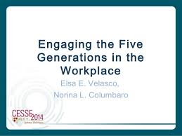 Five Generations In The Workplace Chart Engaging 5 Generations In The Workplace
