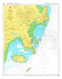 Thailand Nautical Chart 308 Phuket Kantang 20 00