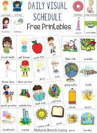 Visual Schedule Printables Help Kids Plan Their Days Kids